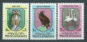 Afghanistan Mail Yvert 865/67 MNH Wildlife Birds