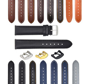 18-19-20-22-24-26MM LEATHER WATCH BAND STRAP SMOOTH FOR BREGUET