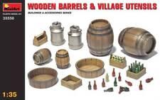 MiniArt 35550 Wooden Barrels & Village Utilities 1 35