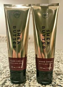 2 Bath And Body Works Shea Butter Hand Cream 4 FL OZ