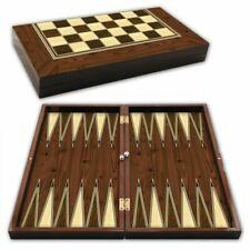 Backgammon Cafe TAVLA Ottoman Dame Star 1021019 Kahveci Ceviz Walnuss Neu OVP
