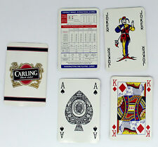 PACK OF PLAYING CARDS ADVERTISING CARLING BLACK LABEL, WADDINGTON, BOXED