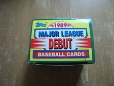 1989 Topps Debut 152-card complete set MLB Ken Griffey Jr. RC