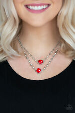 Colorfully Charming Red Necklace By: Paparazzi