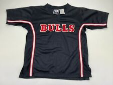 Vintage Retro NBA Chicago Bulls Basketball Shirt Genuine Stuff   Size Small 8