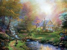 CEACO THOMAS KINKADE JIGSAW PUZZLE A MOTHER'S PERFECT DAY 1000 PCS #3310-54