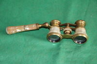 ANTIQUE 1890's MOTHER OF PEARL FRENCH OPERA GLASSES