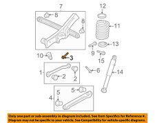 GM OEM Rear Suspension-Upper Control Arm Bolt 11517901