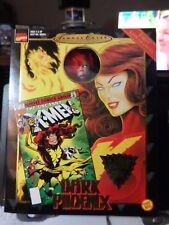 "Marvel's Famous Covers Dark Phoenix 8""  Action Figure-Fabric Costume-New-Toy Biz"