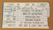 1997 MAN OR ASTROMAN? / SKELETON KEY NEW YORK CITY CONCERT TICKET STUB