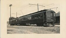 1941 Lake Erie & Northern RR , ONT Canada Trolley No 975 & 977   Photo