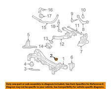 52277-21010 Toyota Retainer, rear suspension member lower stopper, rh 5227721010