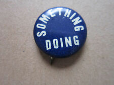 Something Doing Whitehead & Hoag Pin Badge Hat Tie Lapel Button