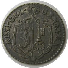 elf Switzerland Canton Geneva 9 Deniers 1785