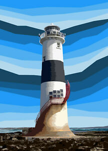 Blackrock Sligo Lighthouse Ireland Limited Art Print By Sarah Jane Holt