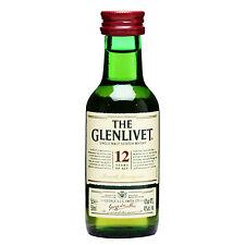 The Glenlivet 12 Years Whisky - Mignon - 5cl - The Glenlivet Distillery