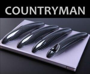 For MINI R60 COUNTRYMAN Cooper S 2011-2016 Gloss Black Door Handle Cover Trim X4
