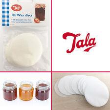 TALA 1LB 200 Jam Wax Discs for Homemade Jam,Chutney,Marmelade Preserves Storage