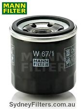 MANN OIL FILTER W67/1 (Z436, Z445) to suit NISSAN NAVARA NP300 PETROL 2.5L QR2
