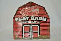 Brown's Tropical Carnival Pet Play Barn with Hay Small Animals Hamsters etc NEW