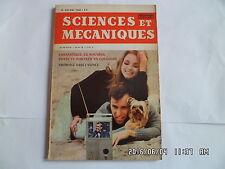 SCIENCES ET MECANIQUES N°240 05/1966 JAGUAR TYPE E 2+2 RECEPTEUR TV COULEUR   G1
