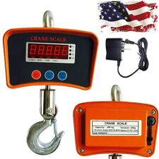 500 KG / 1100 LBS Digital LCD Crane Scale Heavy Duty Industrial Hanging Scale US