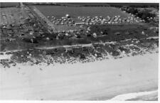 Treyarnon Caravan Site Bungalows Constantine Bay Air Aerial View RP old pc