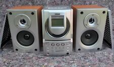 TEAC CD Cassette Micro System HiFi Model MC-D3 With Speakers Tested FREE P&P