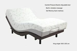 Motion Essential  Electric Adjustable Bed with massage + memory foam Mattress