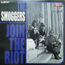 "LP ✦✦ THE SMOGGERS ✦✦ ""Join The Riot"" (Fuzz, Garage-Punk) Fuzztones, Cramps"