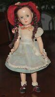 """Vintage Madame Alexander Margaret O'Brien 17.75"""" Doll"""