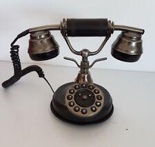 Telefono fisso vintage colore nero Sitel mod. B30250/T