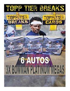 NEW YORK METS - 2021 BOWMAN PLATINUM TOPPS 3X MEGA LIVE PYT BOX BREAK #99