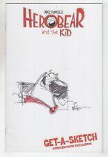 Herobear The Kid Special 1 Boom 2013 NM+ 9.6 Mike Kunkel Sketch Blank Signed