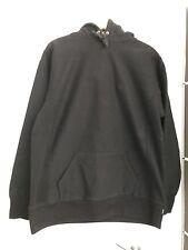 supreme hooded black Hood Printed made in Canada Medium