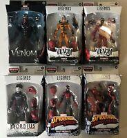 IN HAND Marvel Legends Venom Wave Venompool BAF Set of 6 Figures Carnage