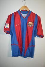 Rare Vintage Nike LFP Barcelona FC Football Soccer Jersey Mens S Small