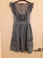 Miss Selfridge Denim Dress 8