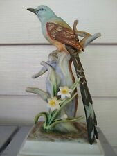Preowned Andrea By Sadek Scissor Tailed Flycatcher Bird Figurine #9198