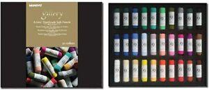 Mungyo Gallery Artists' Handmade Soft Pastels 30 Color Pastel Set MPHM-30