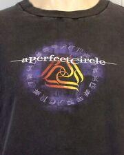 vtg 90s single stitch A Perfect Circle T-Shirt Concert Tour Tool Maynard early M