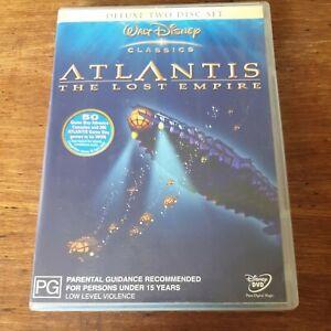 Atlantis The Lost Empire DVD R4 Like New! FREE POST