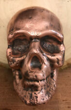 MK BARZ AND BULLION 1 KILO (32.151 TR/OZ) SKULL .999 Copper HAND POURED