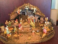 Fontanini By Roman Nativity Set & Stable 37 Figures/Pieces Made In Italy