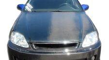 99-00 Honda Civic Carbon Fiber OE Hood 1pc Body Kit 102066