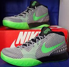 Womens Nike Zoom Kyrie 1 iD Silver Green Black SZ 11 /// Mens 9.5 ( 747424-991 )
