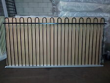 Aluminium Pool Fence Loop Top 2.4x1.2 Panel