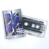 BIG MIKE Somthin Serious Cassette Tape 1994 Rap-A-Lot Hip-Hop Rare