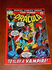 THE TOMB OF DRACULA #5 (1972) VF (8.0) cond. COLAN and PALMER art High Grade!