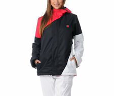 DC Shoes Fuse Jacket Womens Snowobard Ski 5k Waterproof 80g Insulated Black XS